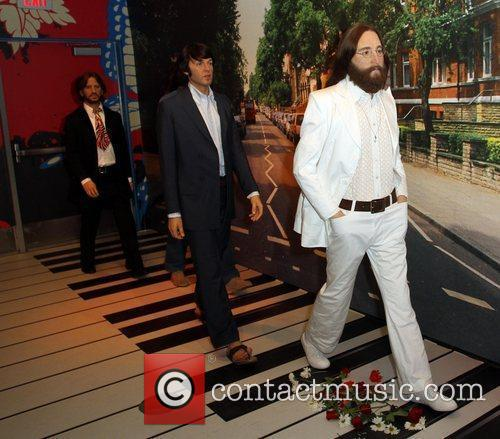 Madame Tussauds unveils The Beatles wax figures in...