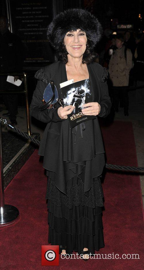 lesley joseph at the bodyguard opening night 4190823