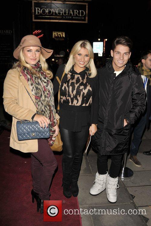 Sam Faiers, Billie Faiers and Joey Essex