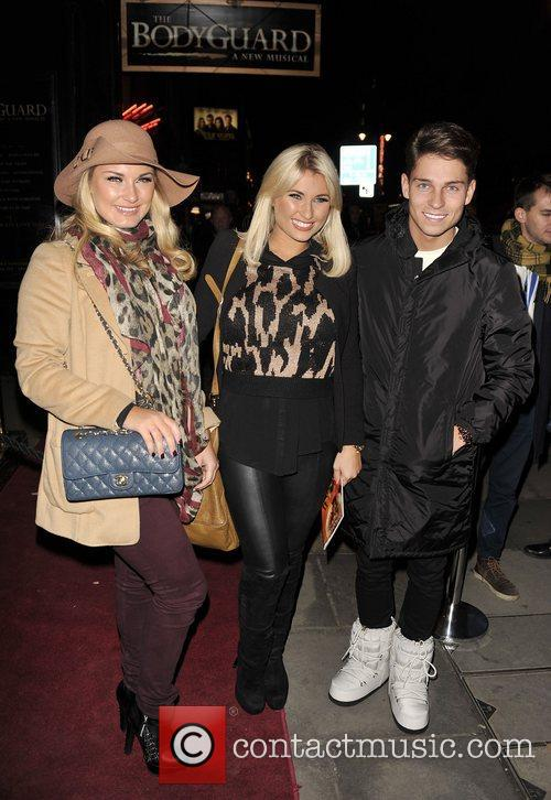Sam Faiers, Billie Faiers and Joey Essex at...