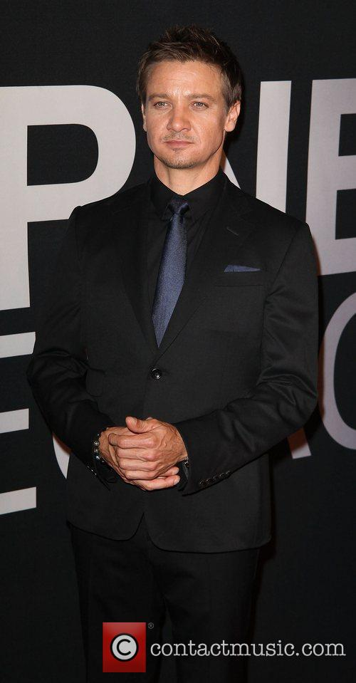 Jeremy Renner and Ziegfeld Theatre 7