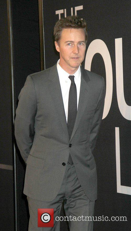 Edward Norton,  at the Universal Pictures world...