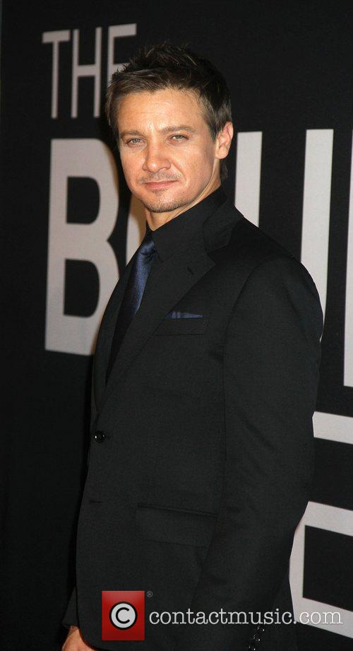 Jeremy Renner and Ziegfeld Theatre 2