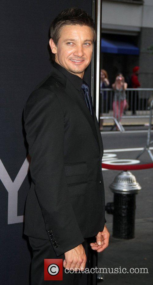 Jeremy Renner and Ziegfeld Theatre 3