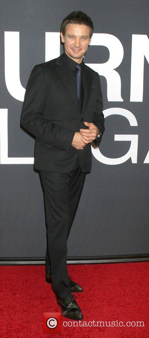 Jeremy Renner and Ziegfeld Theatre 4