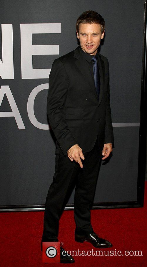 Jeremy Renner and Ziegfeld Theatre 1