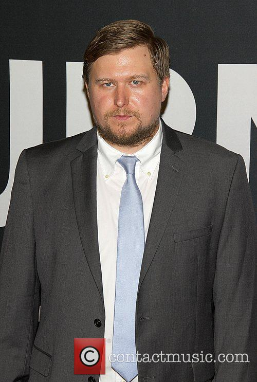 Michael Chernus,  at the Universal Pictures world...