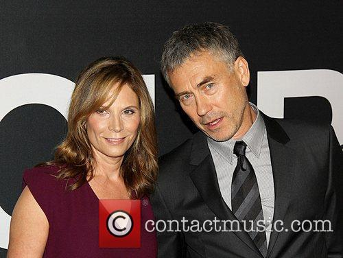 Susan Gilroy and Tony Gilroy,  at the...