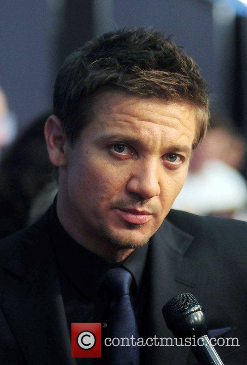 Jeremy Renner Universal Pictures world premiere of 'The...