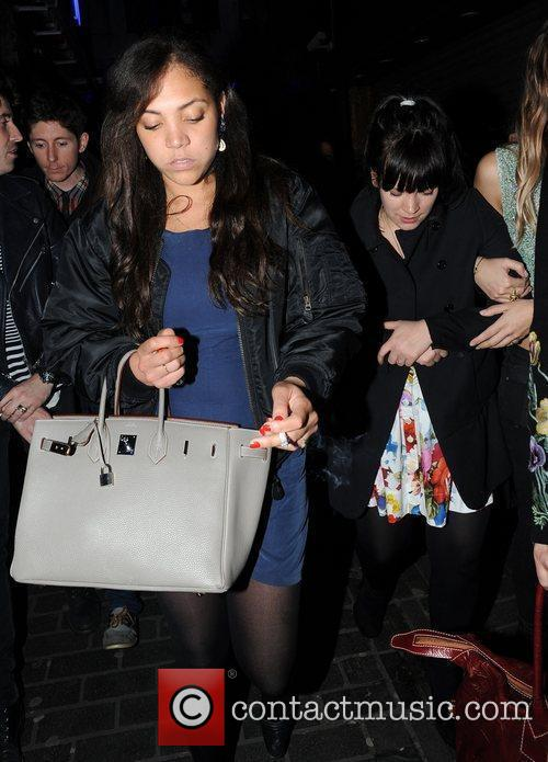Lily Allen and Miquita Oliver 3