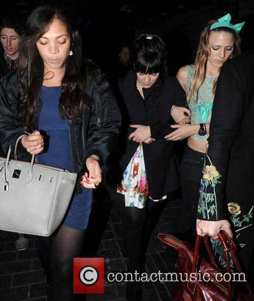 Lily Allen and Miquita Oliver 5