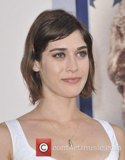 Lizzy Caplan and Grauman's Chinese Theatre 1