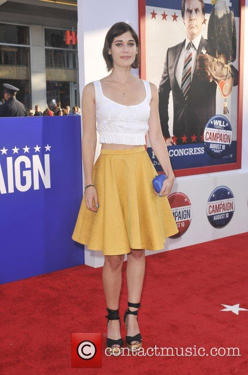 Lizzy Caplan and Grauman's Chinese Theatre 4