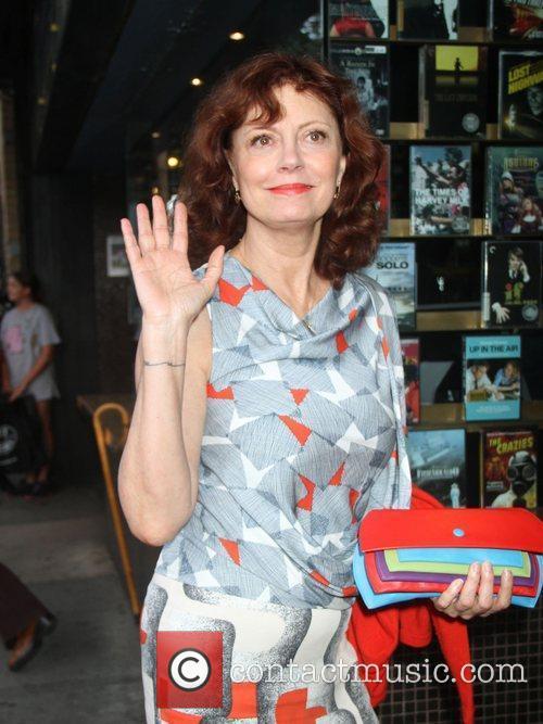 Susan Sarandon Screening of 'The Campaign' at the...