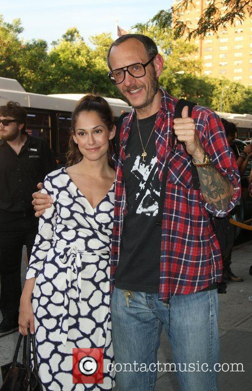 Terry Richardson Screening of 'The Campaign' at the...