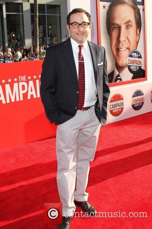 P.J. Byrne Los Angeles Premiere of 'The Campaign'...