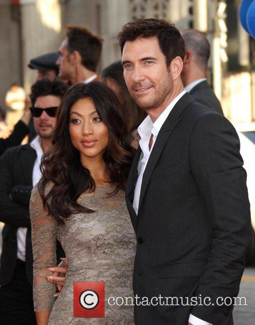 Shasi Wells, Dylan McDermott Los Angeles Premiere of...