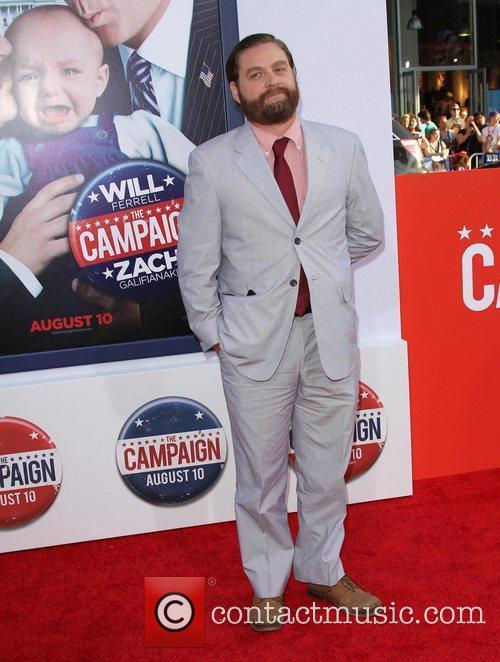 Zach Galifianakis and Grauman's Chinese Theatre 5