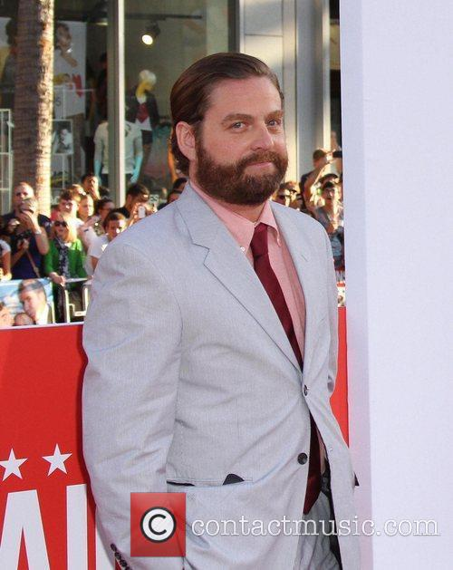 Zach Galifianakis and Grauman's Chinese Theatre 1