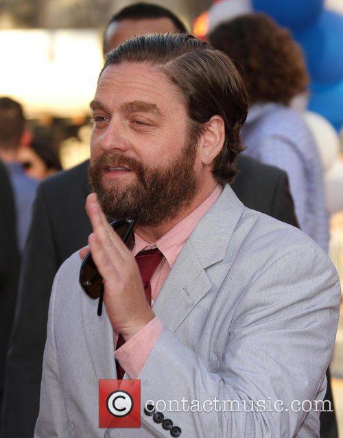 Zach Galifianakis and Grauman's Chinese Theatre 9