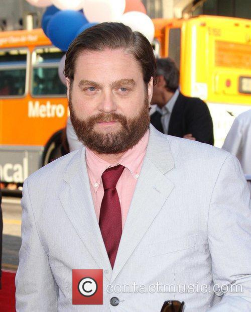 Zach Galifianakis and Grauman's Chinese Theatre 10