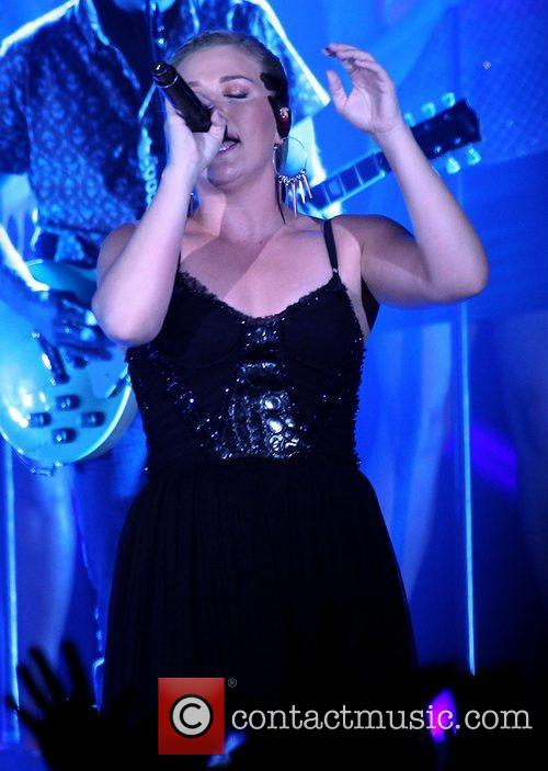 Kelly Clarkson Kelly Clarkson and The Fray performing...