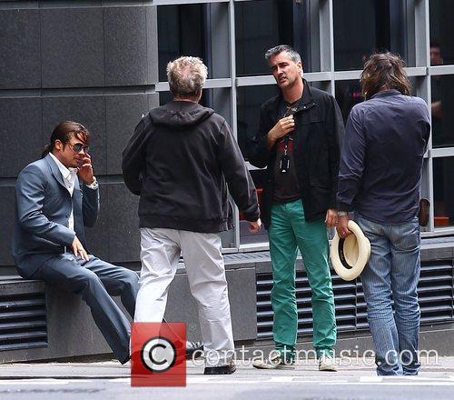 Ridley Scott and Brad Pitt 3