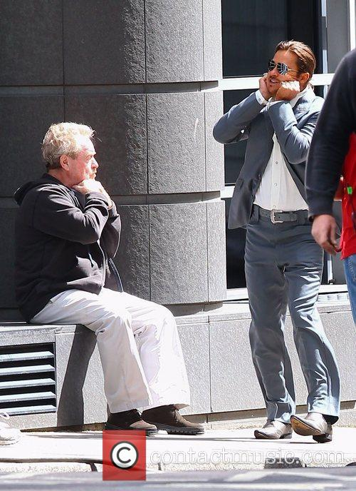 Ridley Scott and Brad Pitt 4