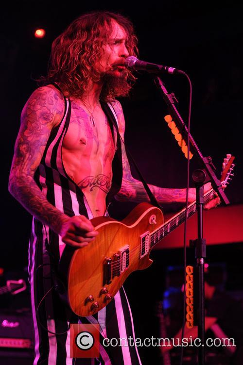 'The Darkness' performing live in concert at Revolution...