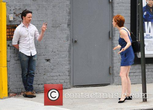 Jessica Chastain and James Mcavoy 2