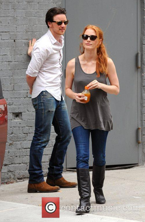 Jessica Chastain and James Mcavoy 3
