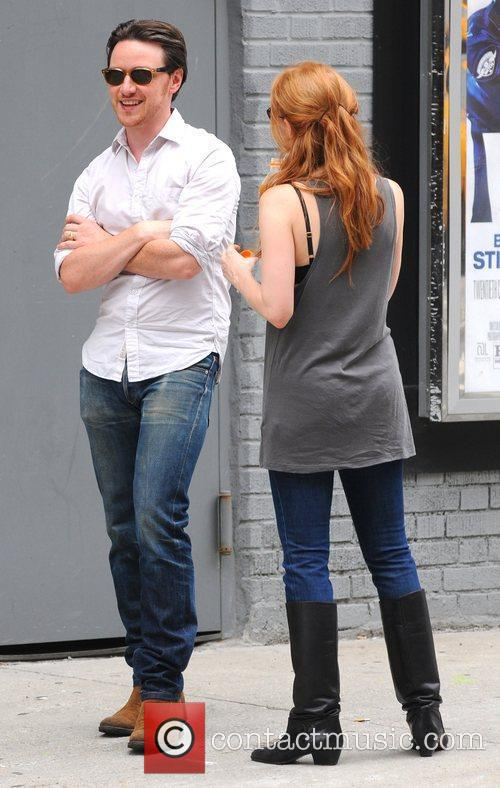 Jessica Chastain and James Mcavoy 6