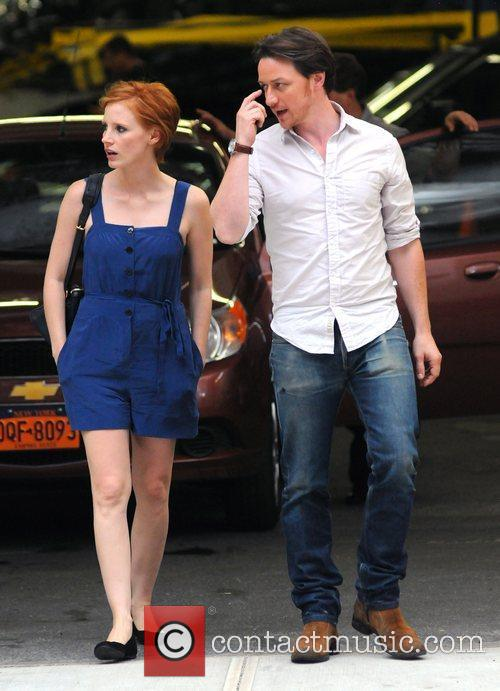 Jessica Chastain and James Mcavoy 8
