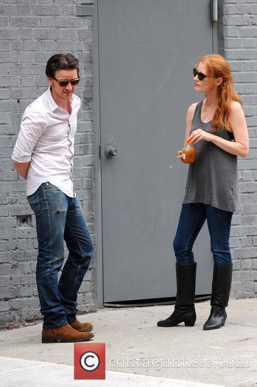 Jessica Chastain and James Mcavoy 9