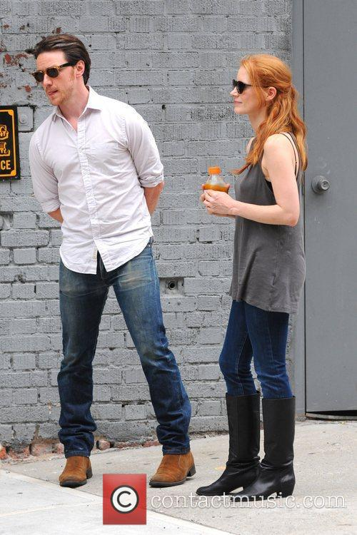 Jessica Chastain and James Mcavoy 10