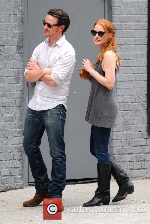 Jessica Chastain and James Mcavoy 11