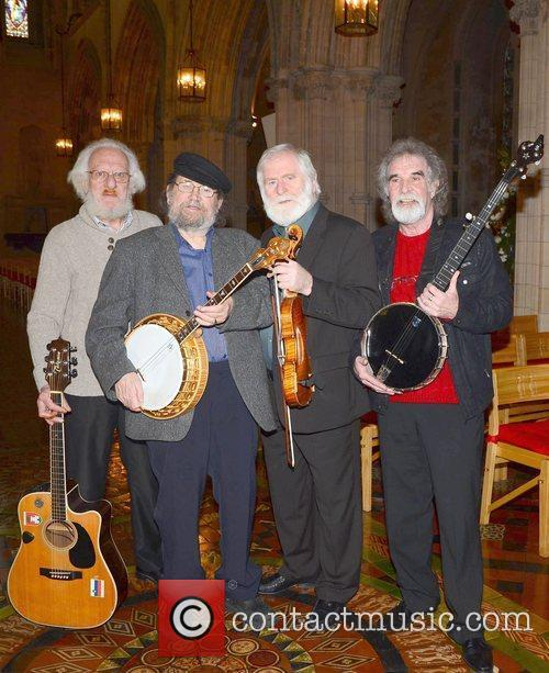 The remaining members of The Dubliners launch Temple...