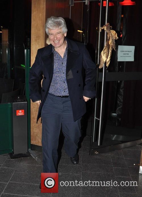 Adam Clayton Members of U2 outside Harry Crosbie's...