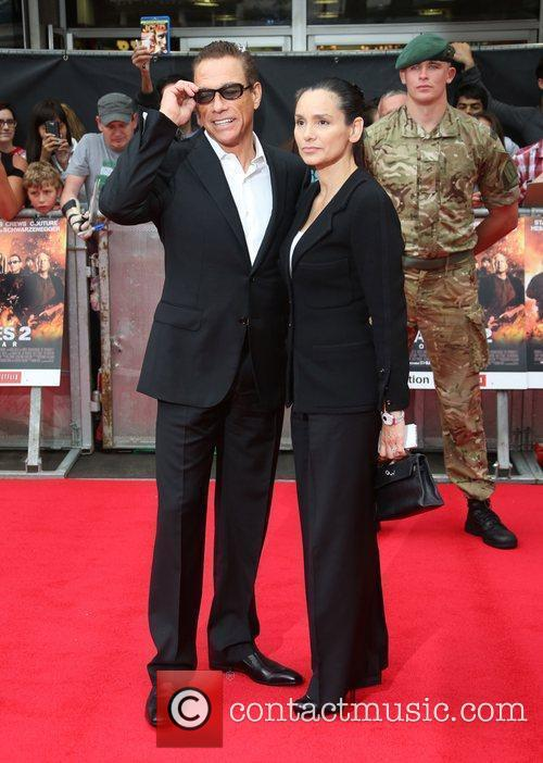 Jean Claude Van Damme and Empire Leicester Square 8