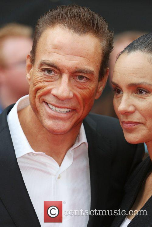 Jean Claude Van Damme and Empire Leicester Square 9