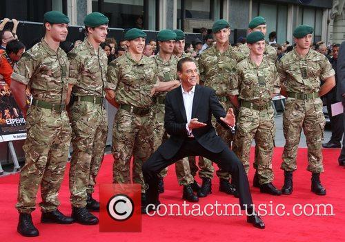 Jean Claude Van Damme and Empire Leicester Square 1