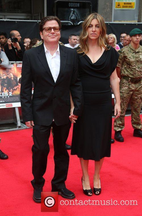simon west and wife the expendables 2 4030905