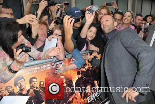 Jason Statham and Empire Leicester Square 6