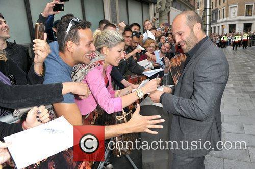 Jason Statham and Empire Leicester Square 8