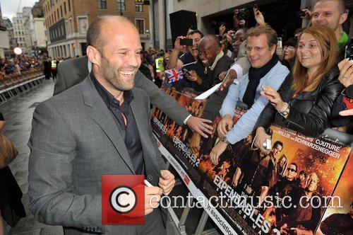 Jason Statham and Empire Leicester Square 9