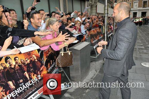 Jason Statham and Empire Leicester Square 10