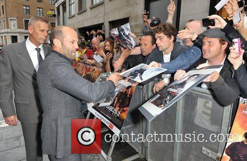Jason Statham and Empire Leicester Square 11