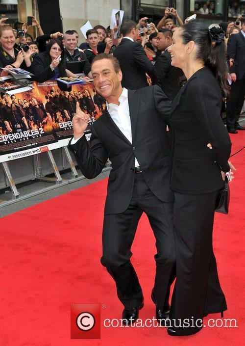 Jean Claude Van Damme and Empire Leicester Square 3