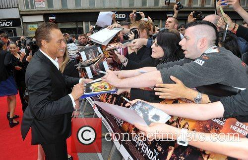 Jean Claude Van Damme and Empire Leicester Square 7