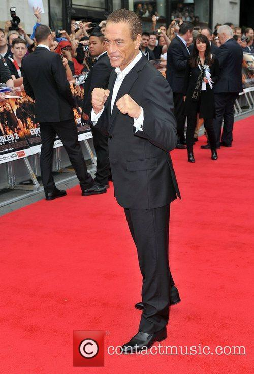 Jean Claude Van Damme and Empire Leicester Square 10